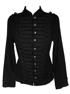 "Kurtka uniform goth steampunk ""Hearts and Roses"""